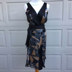 Diane von Furstenberg Rezina Rayon/Silk Wrap Dress